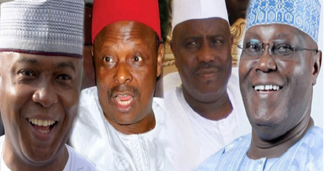 2019: PDP wants all its presidential aspirants to agree to step down for one person