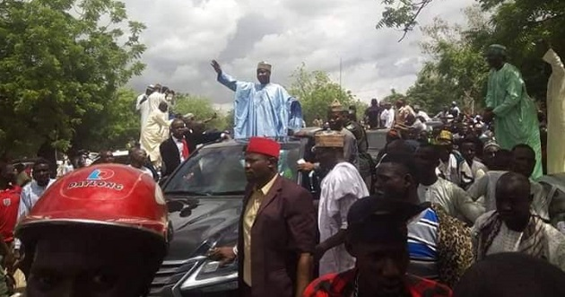 Wamakko declares PDP dead, Tambuwal irrelevant as he holds APC rally in Sokoto