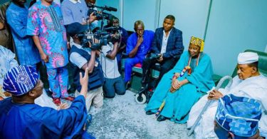 FRESH FM DEMOLITION: Stunned by backlash Ajimobi meets Ayefele