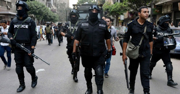 Egyptian forces kill 6 suspected militants during raid