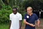 Gernot Rohr and Victor Moses