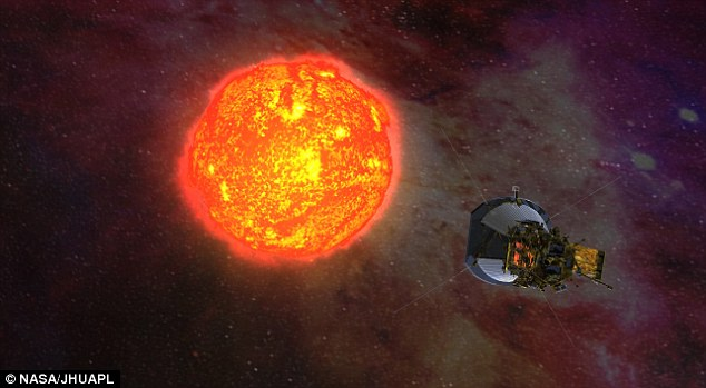 """NASA spacecraft set to begin 7-yr mission to """"touch the sun"""""""