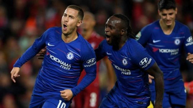 Maurizio Sarri: 'Liverpool are a step ahead of Chelsea'