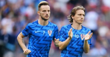 Ivan Rakitic and Luka Modric