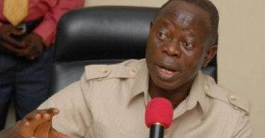 In veiled jab, Oshiomhole directs APC committees to look out for 'opportunists' like Saraki, Dogara