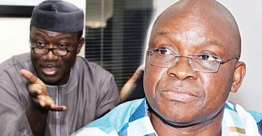Fayemi moves against Fayose's men, dissolves board of agencies, parastatals