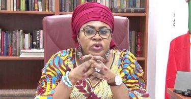 PDP members protest against return of ex-minister Oduah