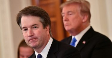 Trump apologises to Kavanaugh on behalf of Americans