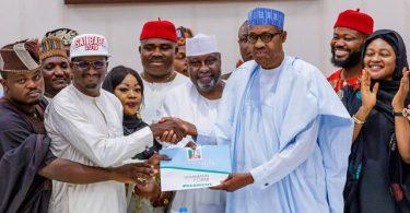 Those who left APC are selfish and weak --Buhari