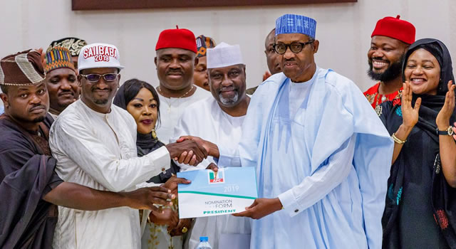 Those who left APC are selfish and weak --Buhari