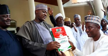Dogara's defection to PDP settled as he submits form for House of Reps