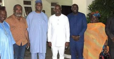 Saraki takes campaign to actors, doles out N5m for ailing actors
