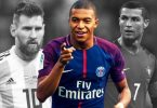 Ballon d'Or Messi-Mbappe-Ronaldo
