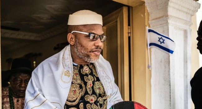 Watch Nnamdi Kanu World Press live broadcast from Jerusalem