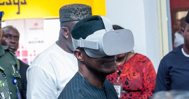 Osinbajo visits Enugu Tech hub