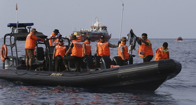 Wreckage of Indonesian Lion Air jet found