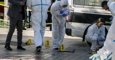 30-yr-old female suicide bomber blows herself up in central Tunis, injures 9 victims