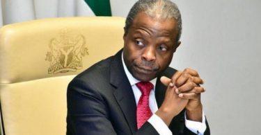 Nigerians have no reason to pay bribes, Osinbajo declares