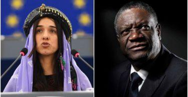 Congolese gynaecologist, Iraqi rape victim win 2018 Nobel peace prize