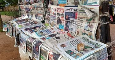 Biafra themed newspapars seized as DSS raids vendors in Asaba