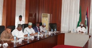 N30,000 MINIMUM WAGE: Governors keep mum as meeting with Buhari ends in deadlock