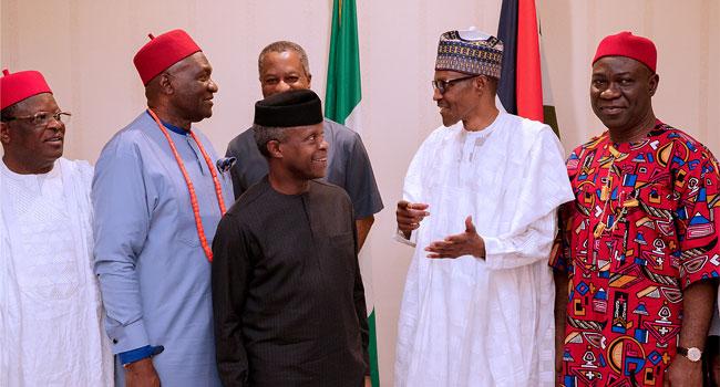 Ekweremadu, South East Govs meet Buhari behind closed-doors