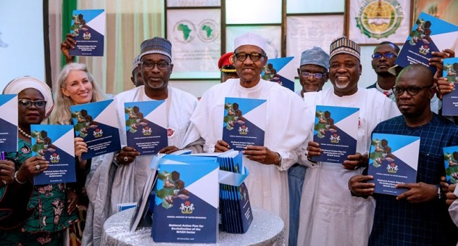 Nigeria cannot develop if we continue 'business as usual' approach— Buhari