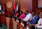 'I'm doing my best', Buhari tells CAN