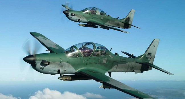 Nigerian Air Force pounds terrorists' location in response to deadly Metele attack