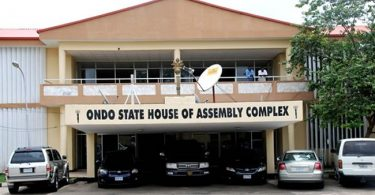 JUST IN: Ondo House of Assembly impeaches Speaker, Deputy