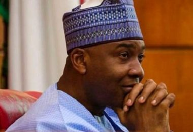 Oshiomhole not fit to continue in politics let alone being chairman of a party – Saraki