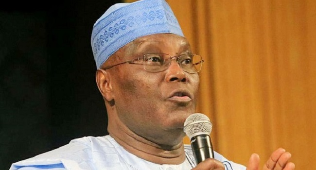 Image result for Buhari, Osinbajo collecting hardship allowance while workers are suffering – Atiku