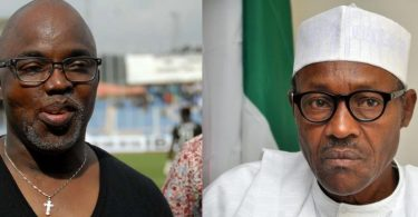 Amaju Pinnick and Muhammadu Buhari