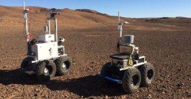 3 autonomous Mars robots land in Morocco