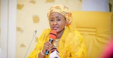 Aisha throws fresh bomb, says 2 powerful men hindering Buhari's efforts to perform