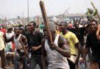 Osun monarch flees kingdom as irate youths set palace ablaze