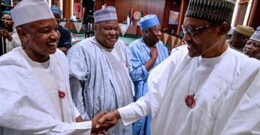 MINIMUM WAGE: Again, Buhari meets with Governors