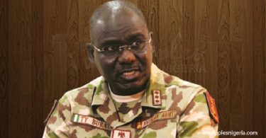 INSURGENCY: Buratai changes tune, denies acussing troops of lack of commitment