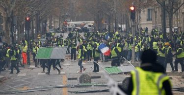 French police arrests 107 people as protests over diesel tax hike turns violent