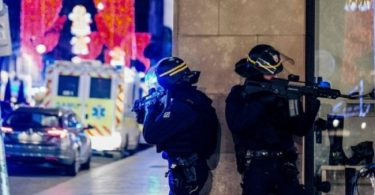 French police launch manhunt for gunman who shot, killed 3 people, wounded 12 others near Christmas market