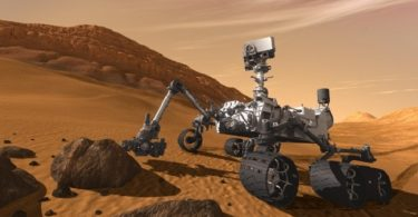 NASA spots suspicious shiny object on Mars