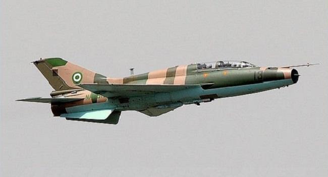 Nigerian Airforce pounds hideout of armed bandits in Zamfara