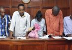 4 Kenyans, Canadian held over Nairobi hotel attack paraded in court