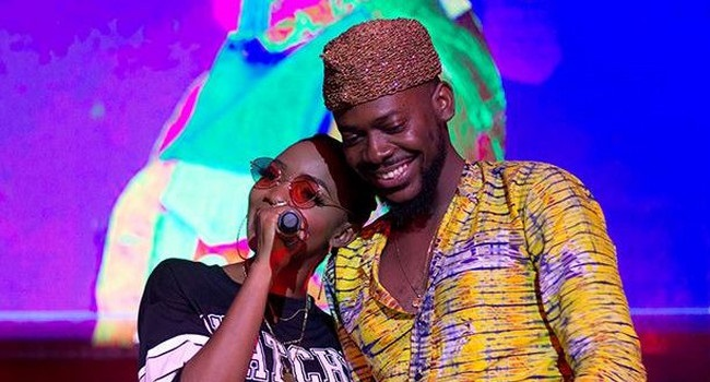 Music lovebirds Adekunle Gold & Simi exchange marital vows