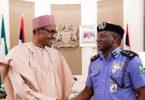 Amid rumours of planned post-retirement tenure extension, IGP Idris meets Buhari