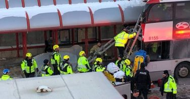3 people killed, 2 dozen others injured as bus crashes into shelter