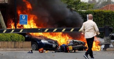Al-Shabab claims responsibility for gunfire, explosion at hotel in Kenya's capital