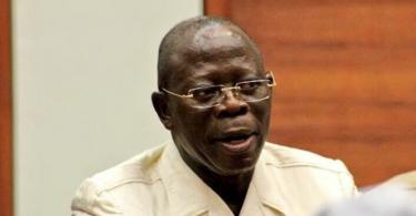 If we are too weak to punish Obasanjo, history will punish him –Oshiomhole