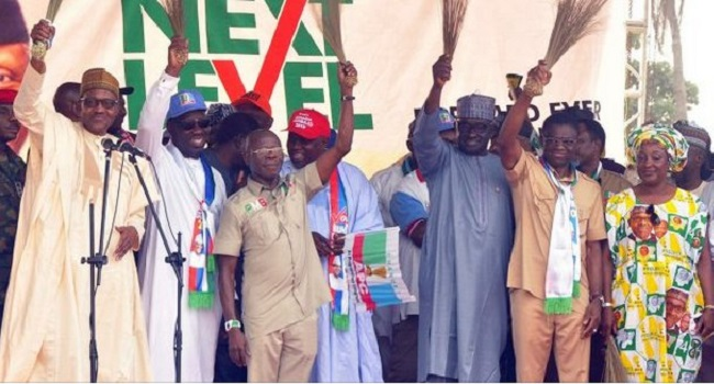 Image result for Oshiomhole: Once you join APC, all your sins are forgiven