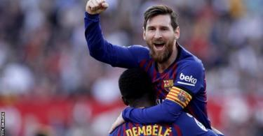 Barca downs United for another UCL semi-final